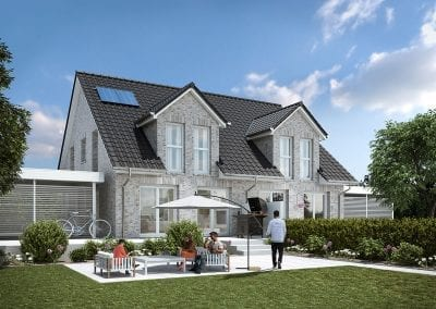 WBI Hausbau - Das Stadthaus Doppelhaus 110