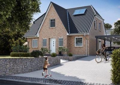 WBI Hausbau - Das Friesenhaus 125 Klinker