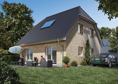 WBI Hausbau - Das Landhaus 115 - individuell anpassbar
