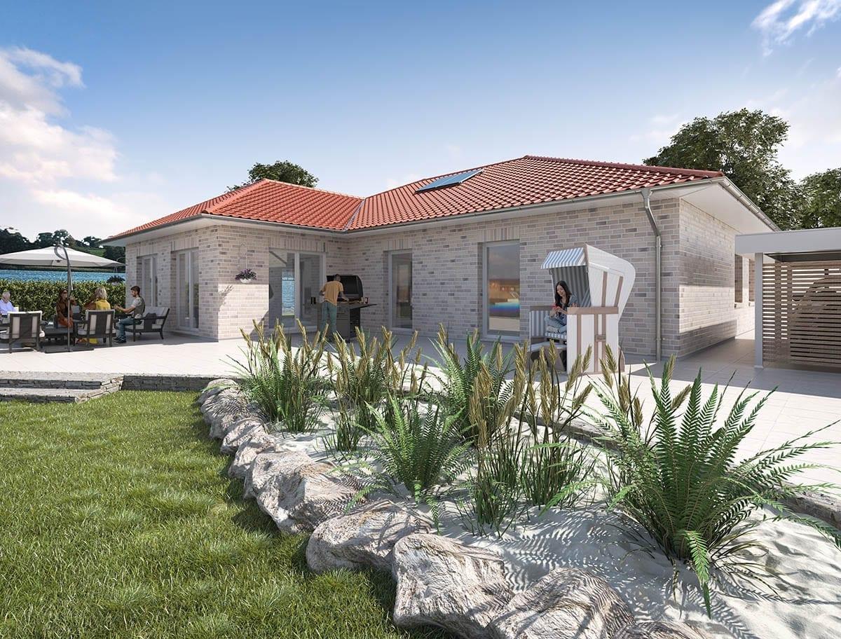 WBI Hausbau - Eine Übersicht aller Haustypen finden Sie hier - Bungalow 140