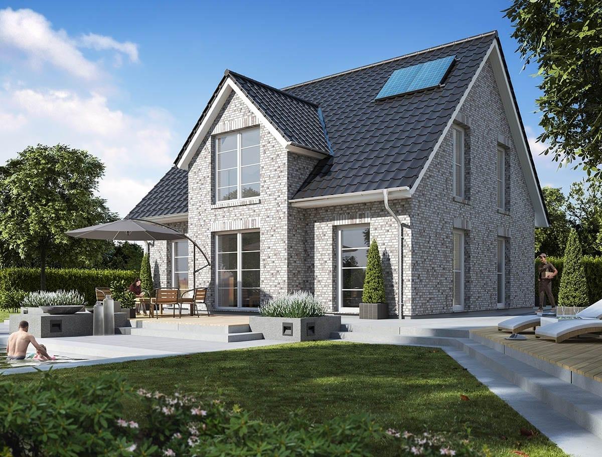 WBI Hausbau - Eine Übersicht aller Haustypen finden Sie hier - Landhaus 140