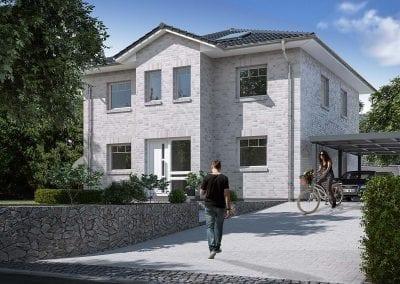 Neubau in Schwentinental mit WBI Hausbau - Stadtvilla 120