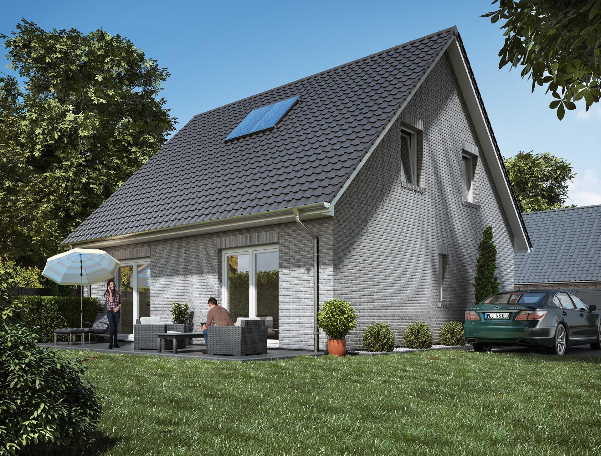 WBI Hausbau - Eine Übersicht aller Haustypen finden Sie hier - Stadthaus 120