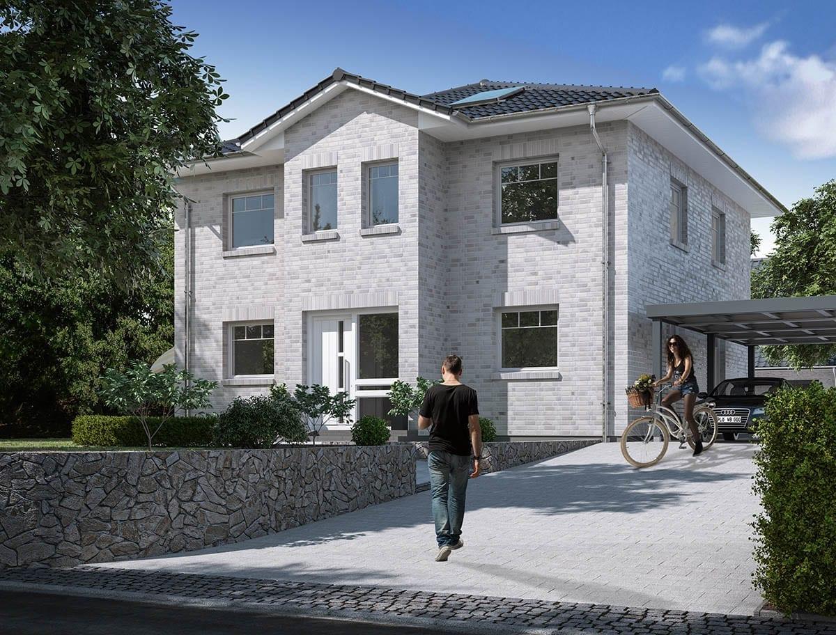 WBI Hausbau - Eine Übersicht aller Haustypen finden Sie hier - Stadtvilla 120