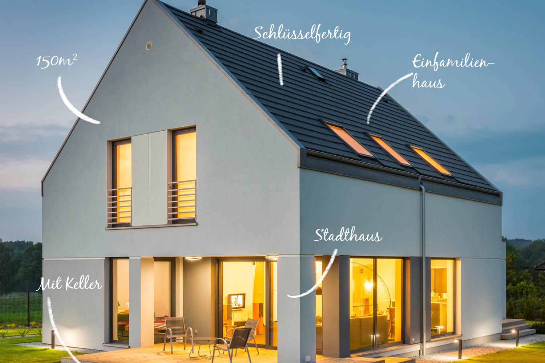 Hauskonfigurator - die erste Idee für das neue Zuhause.